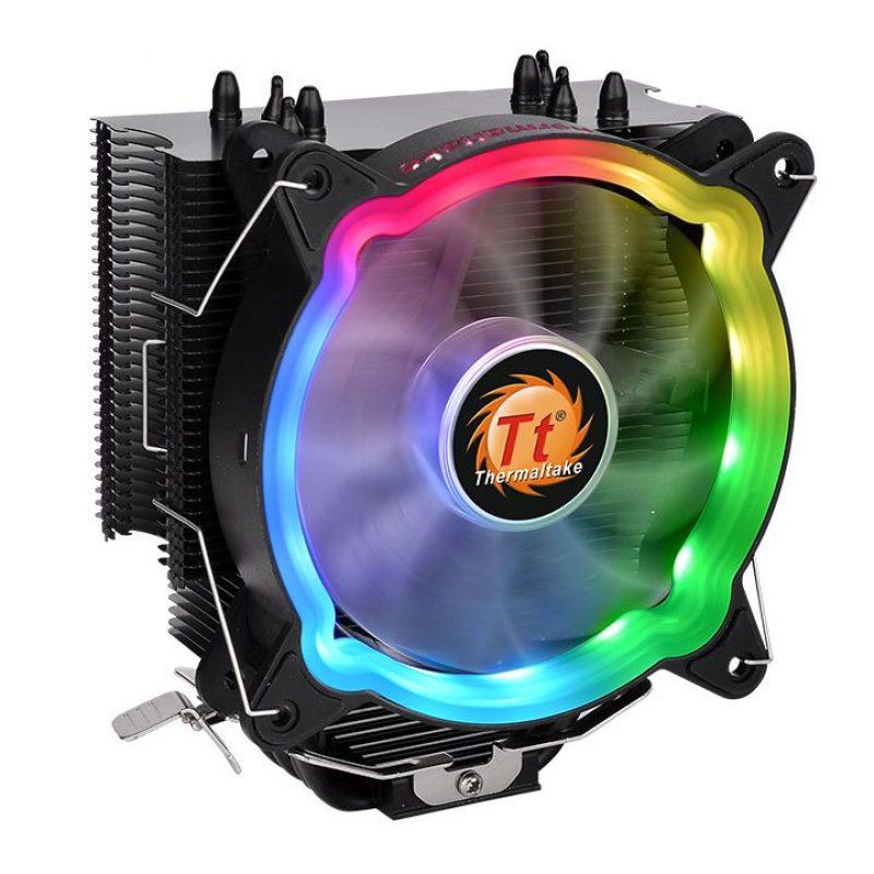 PC Computadora Intel i7-10700F 16GB DDR4 Rgb 500GB SSD + 2TB HDD Thermaltake Case+Cooler Video GTX1050Ti 4GB 4