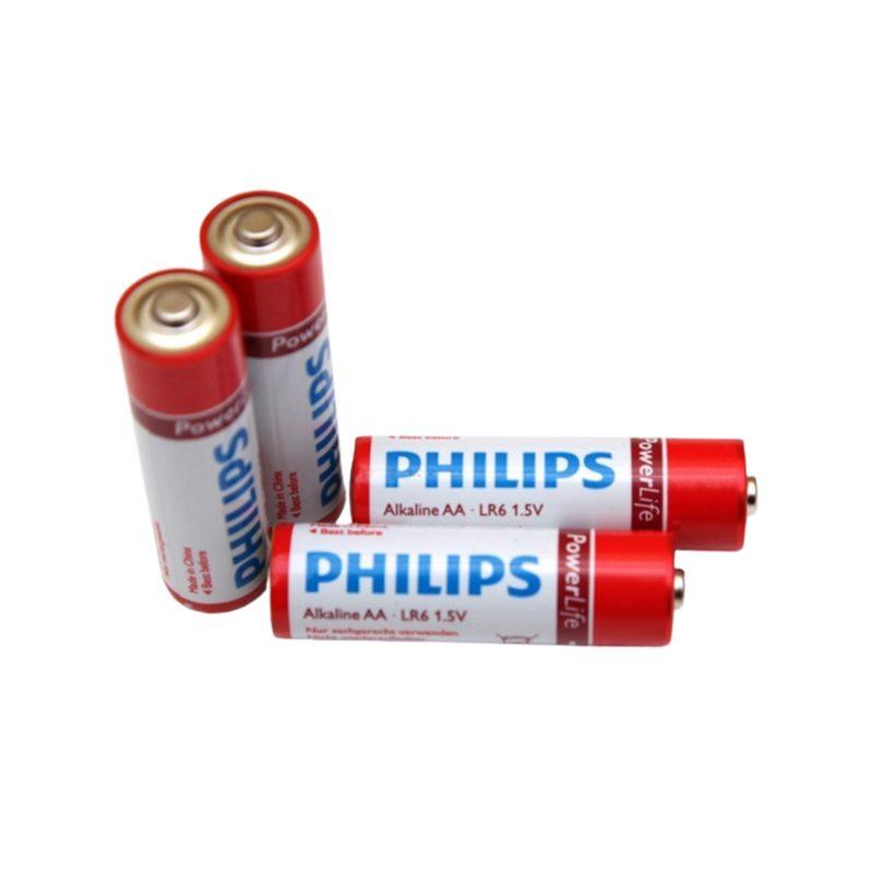Pilas Alcalinas PHILIPS Power Life 1.5V AAA Blister X4 Unidades 1
