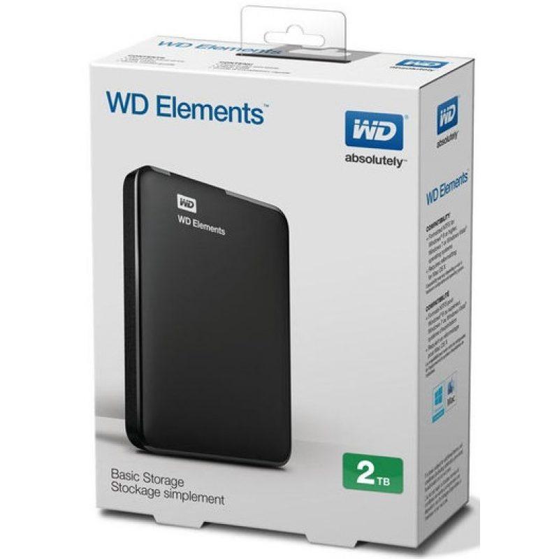 Disco Duro Externo Western Digital Elements 2.5' 2TB USB 3.0 4