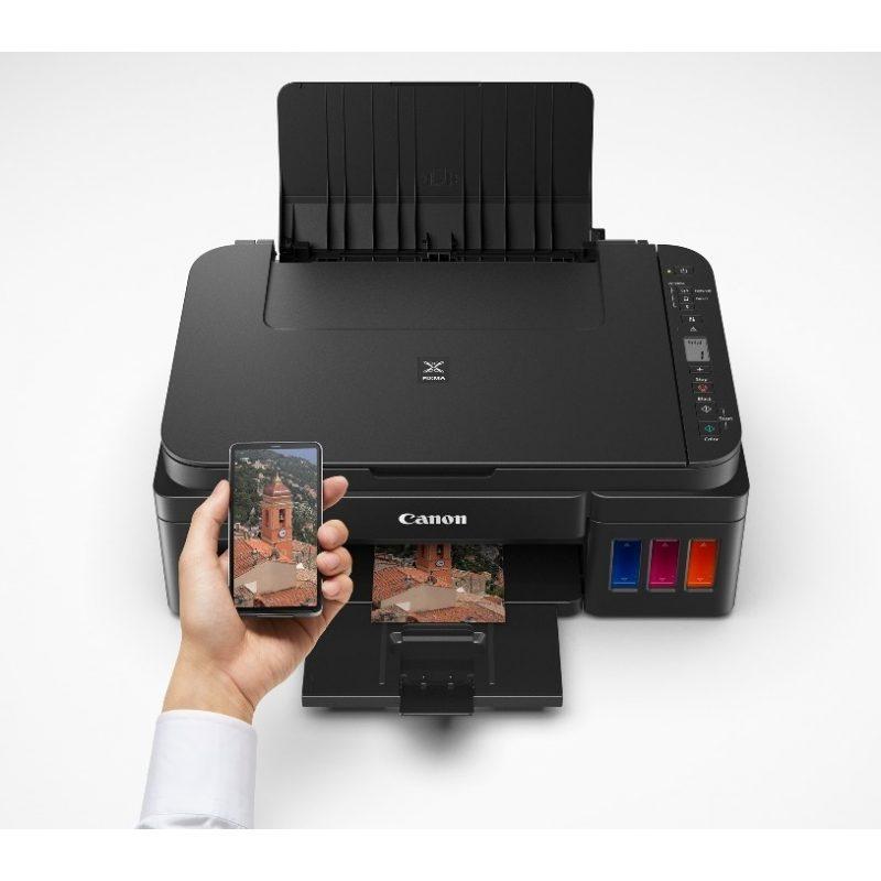 Impresora Multifuncion Canon G3110 WiFi y Sistema Continuo Original 4