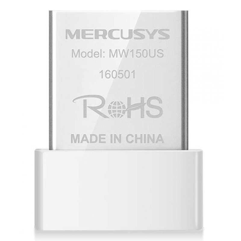 Adaptador Antena USB Receptor de WiFi Mercusys MW150US Nano N150 3