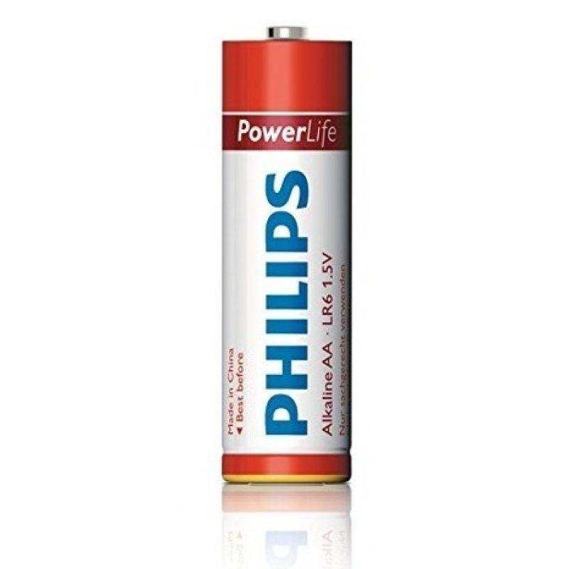 Pilas Alcalinas PHILIPS Power Life 1.5V AA Blister X4 Unidades 2