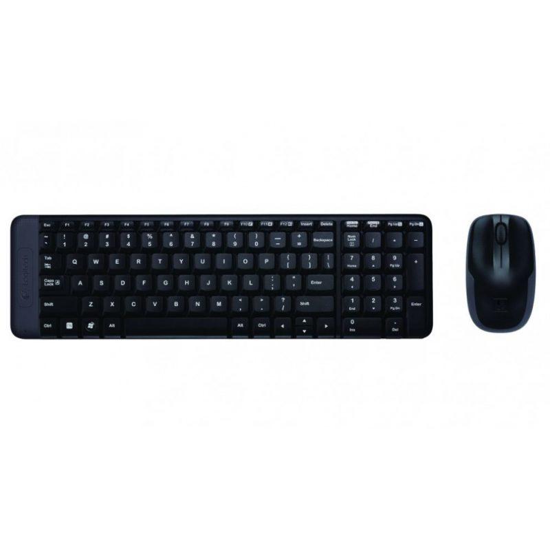 Combo Kit Teclado y Mouse inalambrico Logitech MK220 2