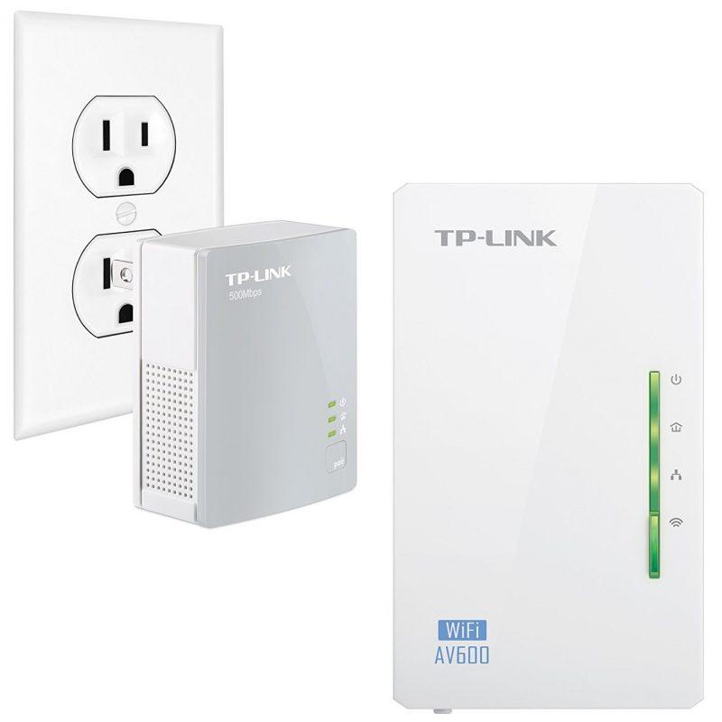 Kit Extensor Powerline TP-Link TL-WPA4220 Starter Kit WiFi AV600 300 Mbps 1