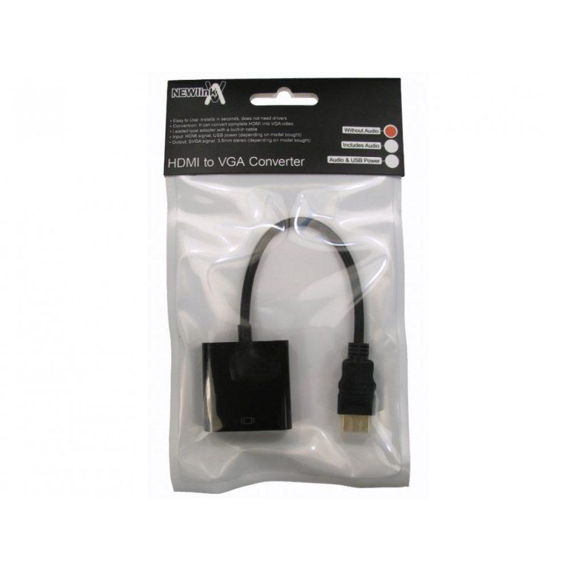 Adaptador HDMI (m) a VGA (h) 2