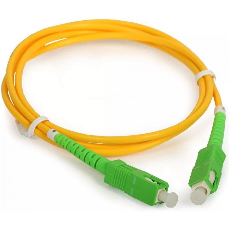 Cable Red Patchcord de Fibra Optica 10 Metros 1