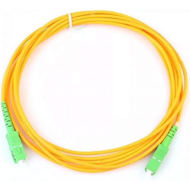 Cable Red Patchcord de Fibra Optica 10 Metros 2