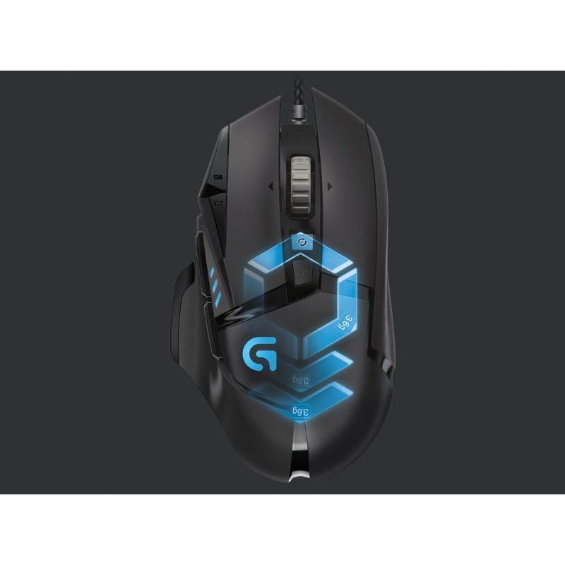 Mouse Gamer Logitech G502 Proteus Spectrum RGB 11 Botones 2