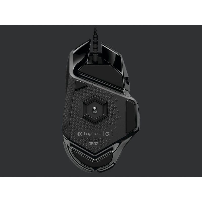 Mouse Gamer Logitech G502 Proteus Spectrum RGB 11 Botones 3