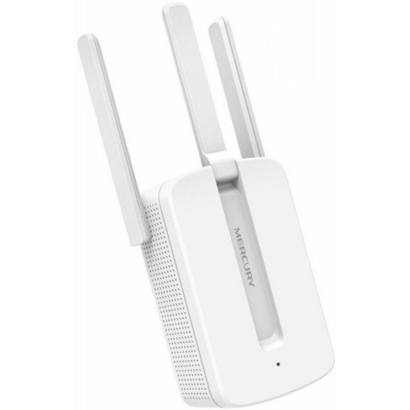 Extensor Amplificador de Señal WiFi Mercusys MW300RE 300Mbps Triple Antena 1