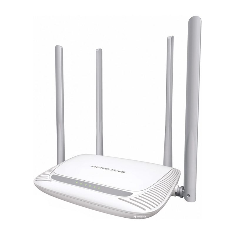 Router inalambrico Mercusys MW325R N de 300Mbps 4 Antenas Extra Alcance 1