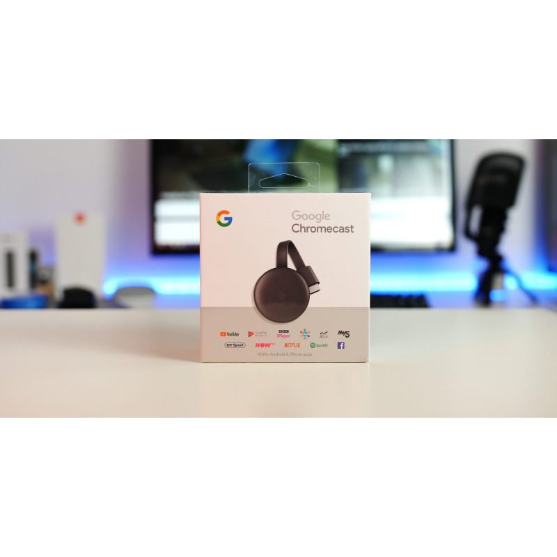 Google Chromecast 3 Tercera Generacion HDMI WiFi 1080p 4