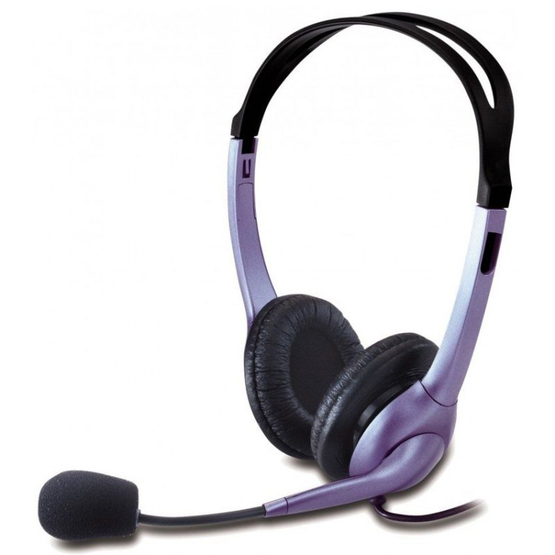 Auriculares Genius HS-04S con Microfono y Anulacion de Ruido 2