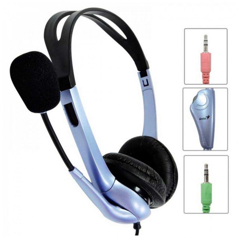Auriculares Genius HS-04S con Microfono y Anulacion de Ruido 3