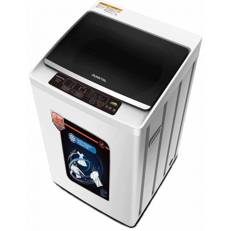 Lavarropas Punktal PK-06 Carga Superior 6Kg Tanque acero inox. 12 Programas de Lavado 1