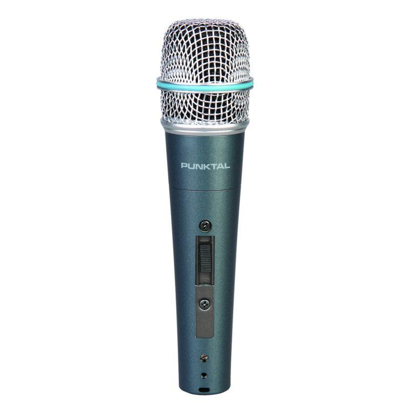 Micrófono Metálico Punktal PK-MIC4319 Karaoke 1