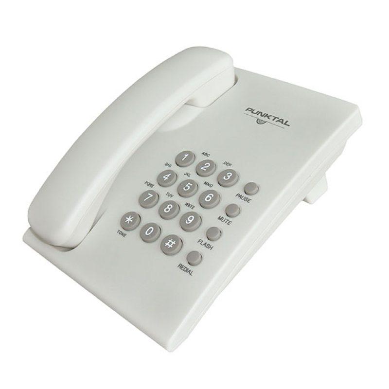 Telefono de Mesa / Pared Punktal PK-TM207 Volumen Ajustable 1