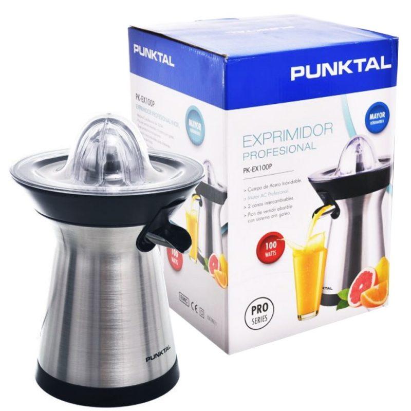 Exprimidor De Jugos Profesional Punktal PK-EX100P Electrico 100W 4