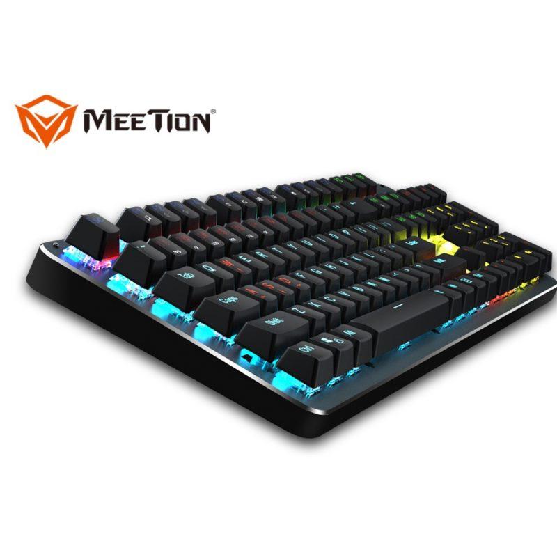 Teclado Gamer Mecánico USB Meetion MT-MK007 RGB Ultra Resistente 2