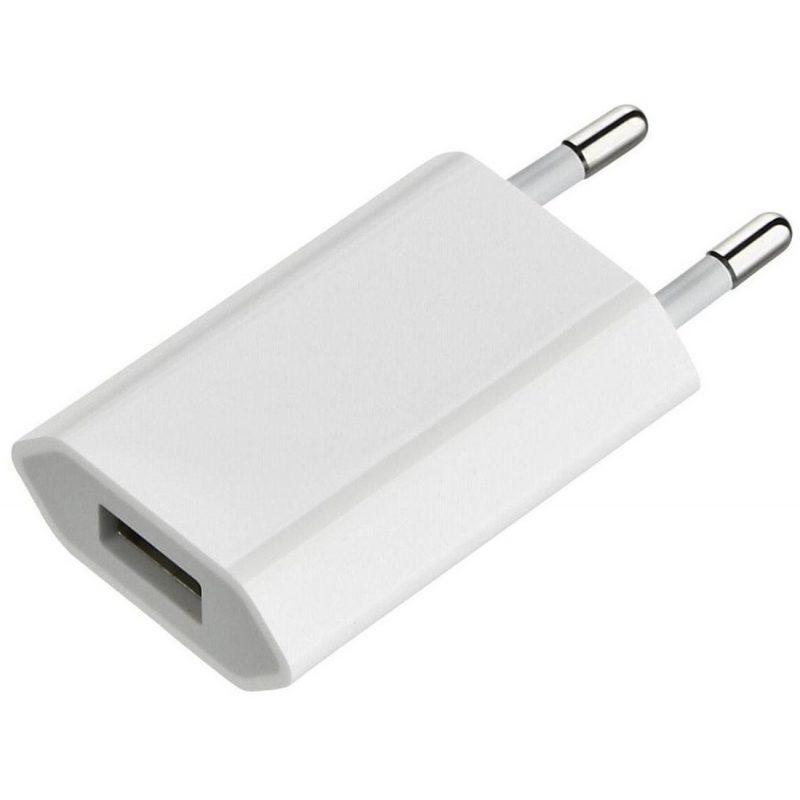 Cargador Apple MD813 5W iPhone Original USB a Corriente 220v 3