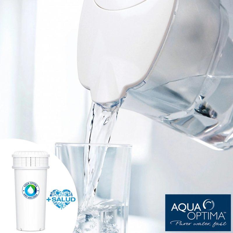 Filtro de Agua Antibacterias 90 días Aqua Optima / Brita Maxtra 3