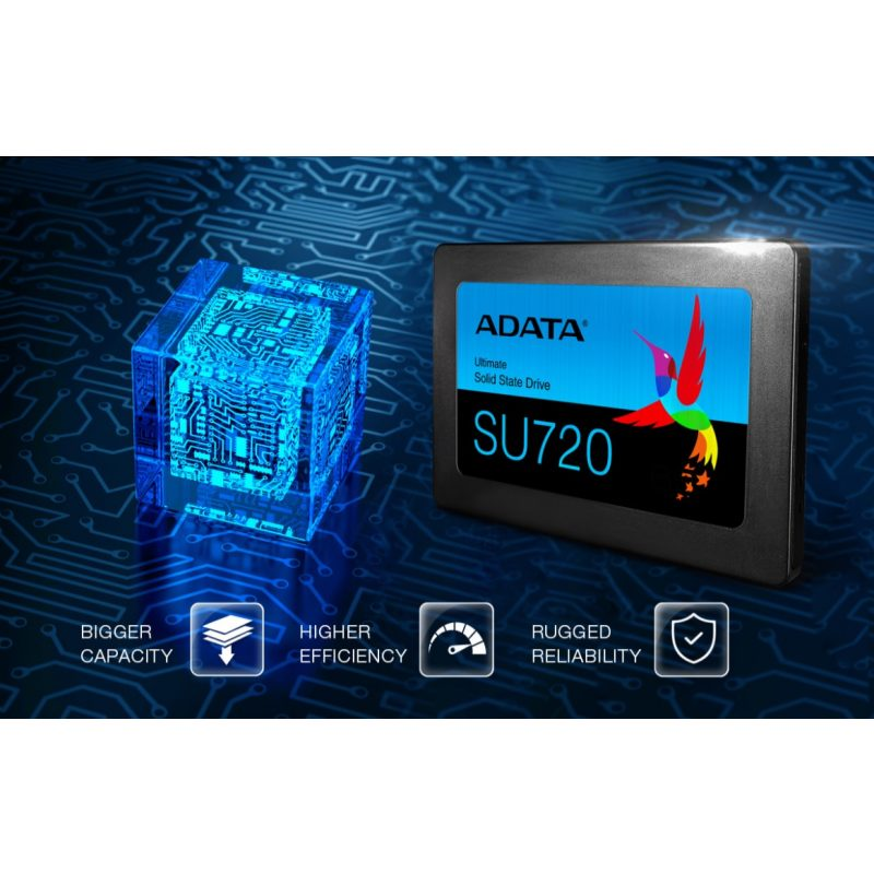 Disco Solido SSD ADATA SU720 500GB SATA3 2.5' 4