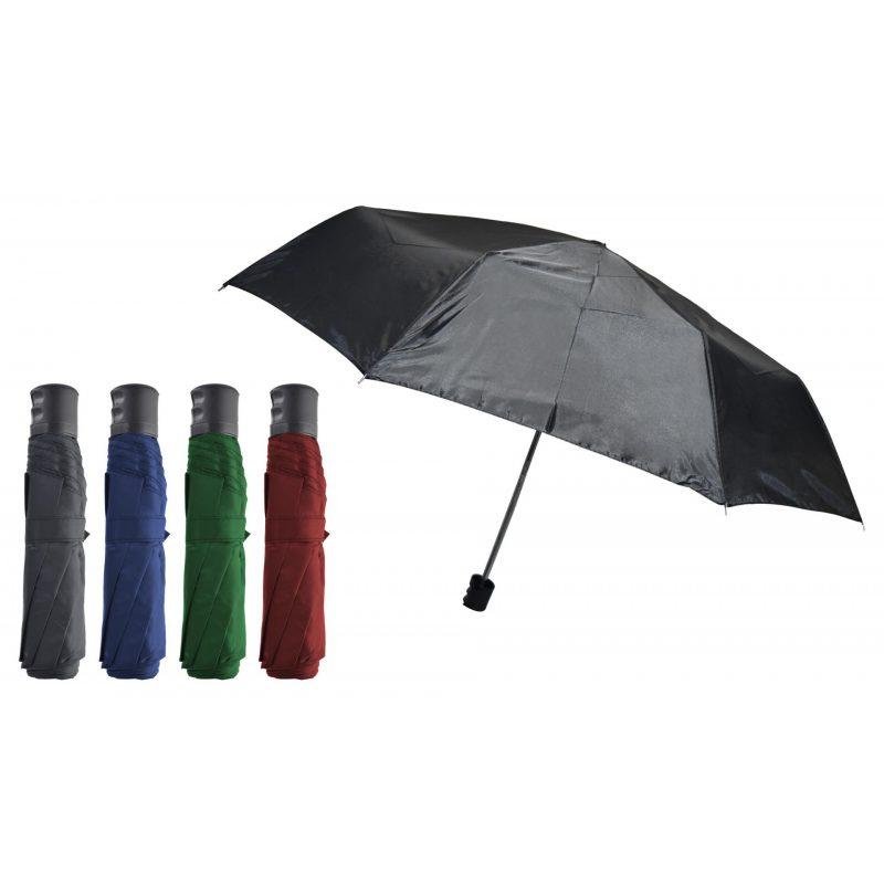 Paraguas Liso Corto de Apertura automática - Varios Colores 3