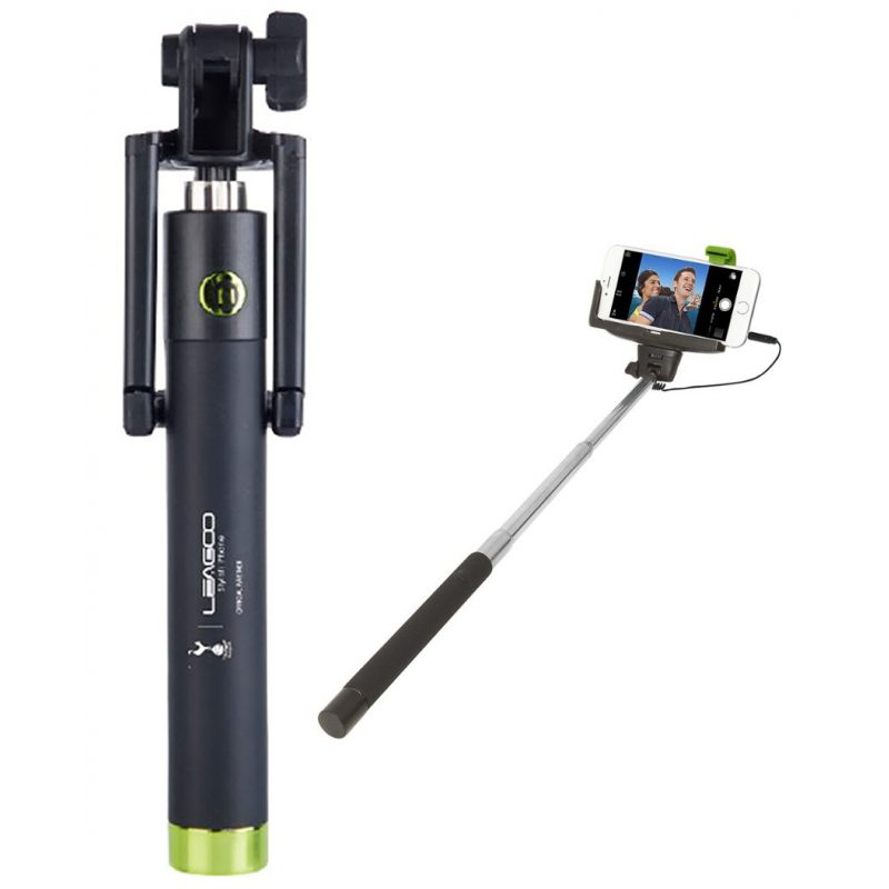 Palo Selfie Stick Leagoo para Celulares Conector 3.5mm 1
