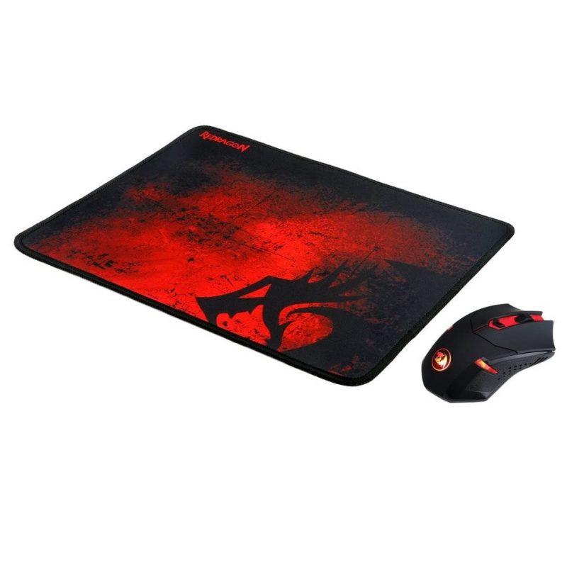 Combo Redragon Mouse Inalambrico Centrophorus M601WL-BA + Mouse Pad Pisces P016 3