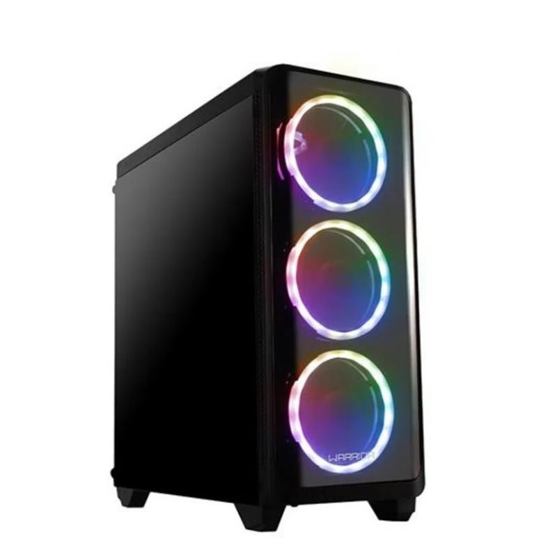 PC Computadora Gamer Warrior Core i5-2400 12GB RAM 240GB SSD + Tarjeta de Video GT1030 2GB DDR5 2