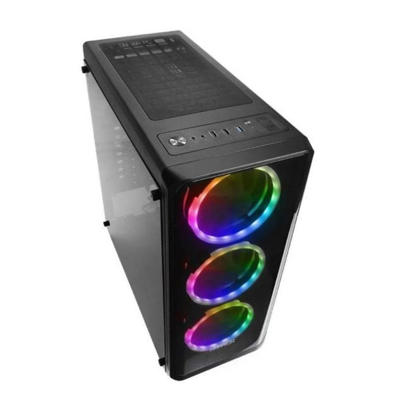PC Computadora Gamer Warrior Core i5-2400 12GB RAM 240GB SSD + Tarjeta de Video GT1030 2GB DDR5 3