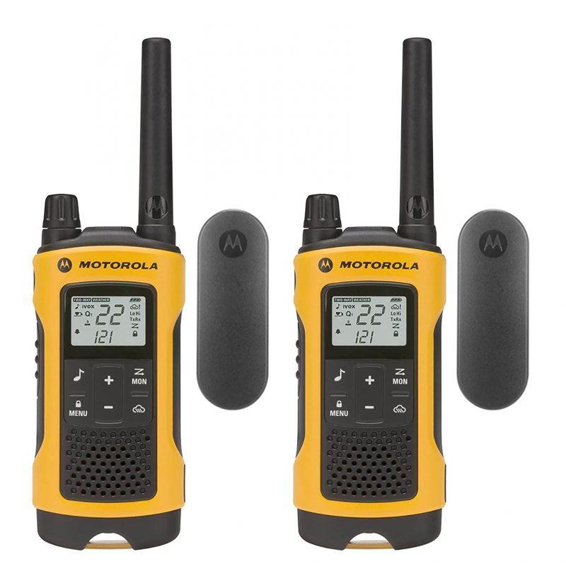 Handy Walkie Talkie Motorola TalkAbout T402 2 Vías 56 Km Resistente lluvia nieve y otras 1