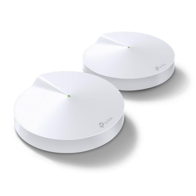 Router / Access Point / Repetidor WiFi TP-Link Deco M5 AC1300 Dual Band Tecnología MESH (Pack de 2 Unidades) 1