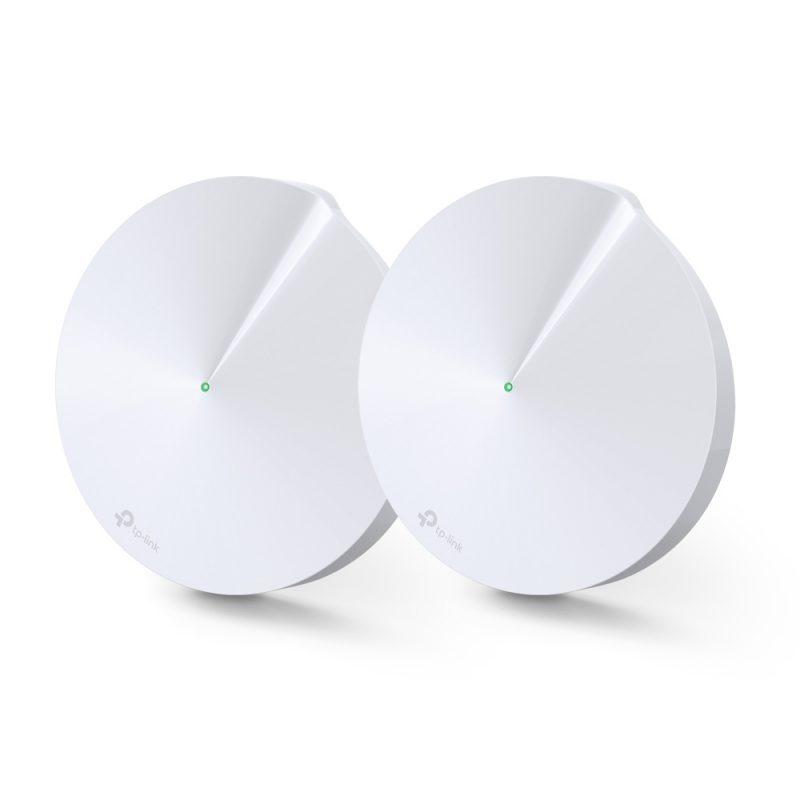 Router / Access Point / Repetidor WiFi TP-Link Deco M5 AC1300 Dual Band Tecnología MESH (Pack de 2 Unidades) 2