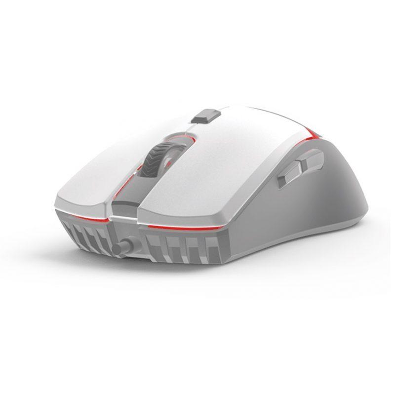 Mouse Gamer Fantech VX7 6 Botones Led 4 Colores - Space Edition (Blanco) 4