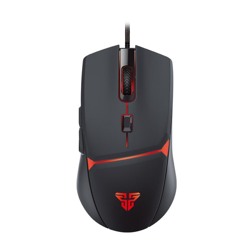 Mouse Gamer Fantech Crypto VX7 6 Botones 4 Colores LED 60 IPS / 15G - Negro 1