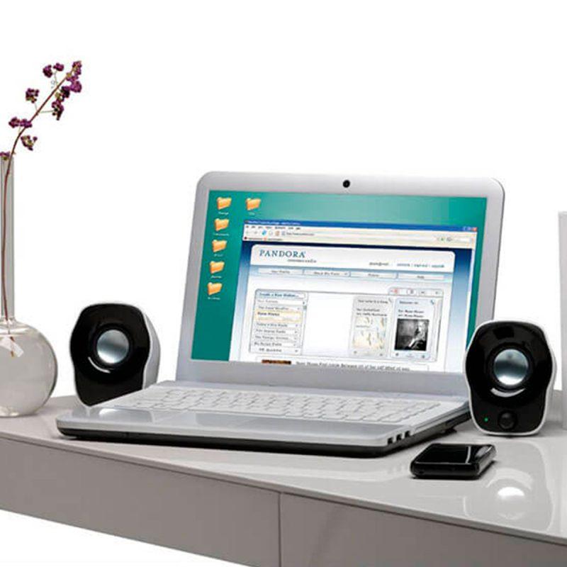 Parlante Logitech Z120 USB 3.5mm Compactos Sonido Claro y Eficiente 4