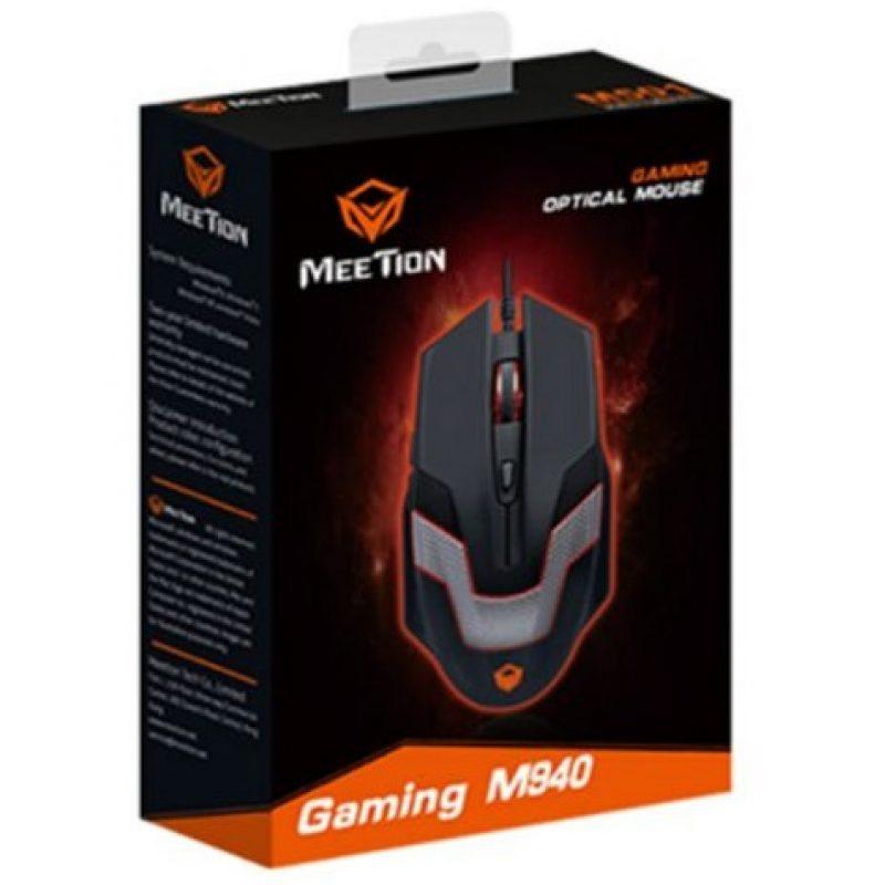 Mouse Optico USB Gamer Meetion MT-M940 Retroiluminado 2