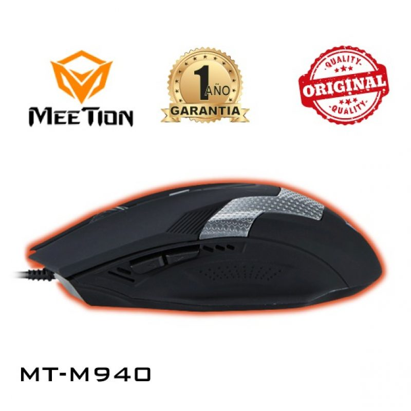 Mouse Optico USB Gamer Meetion MT-M940 Retroiluminado 4