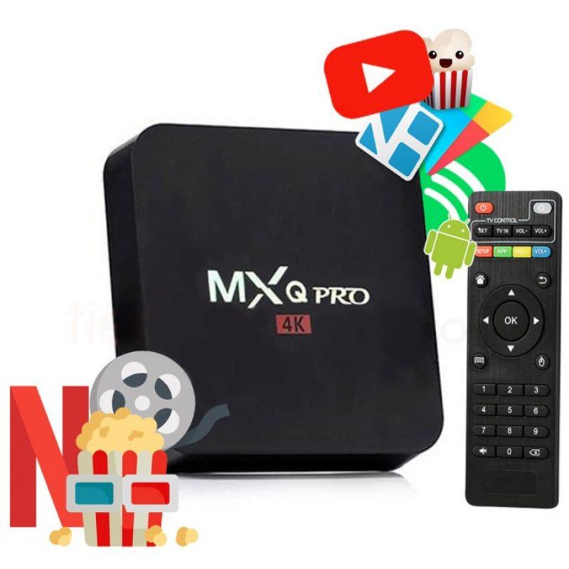 TV Box MXQ 4K Android 7.1 Quad Core 2GB 16GB HDMI WiFi Control 1