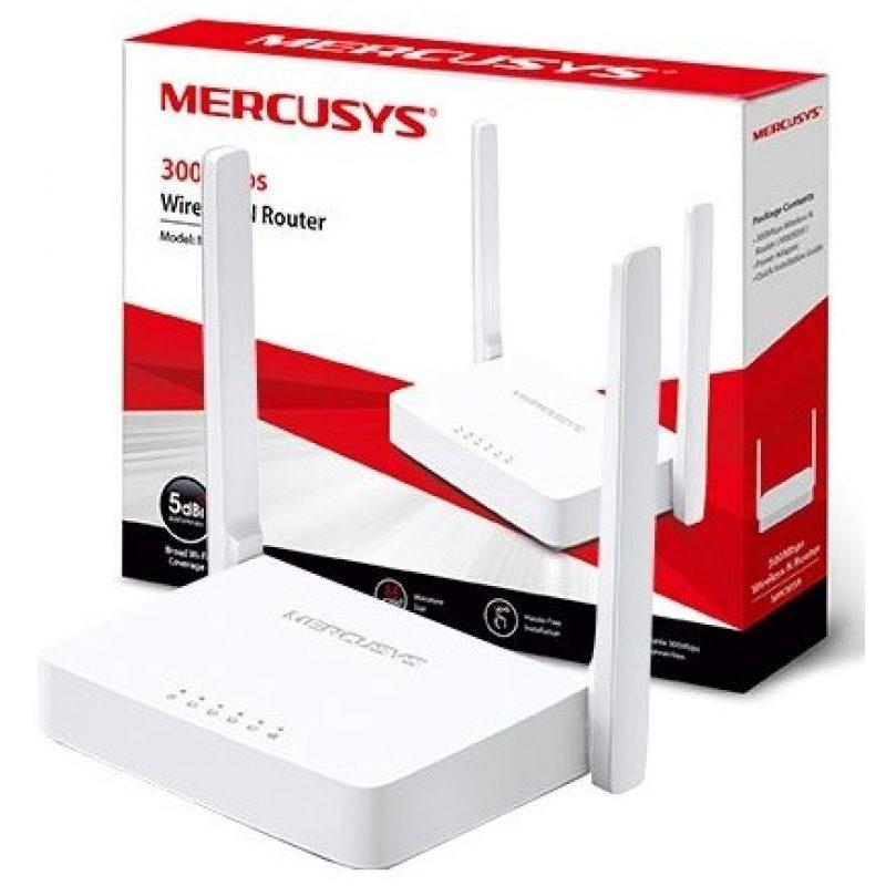 Router inalambrico Mercusys MW301R N de 300Mbps 2 Antenas 2