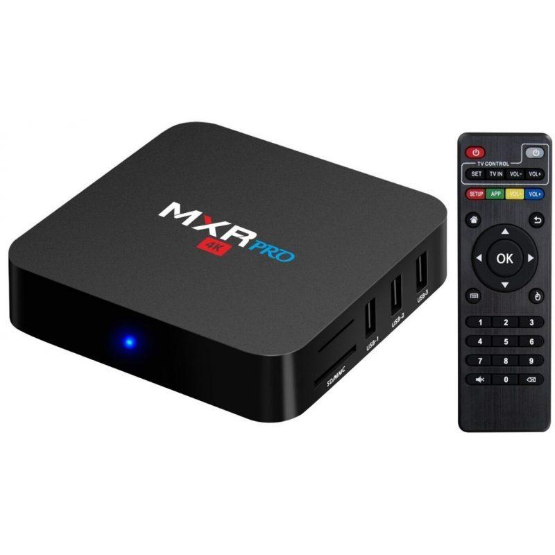 TV Box MXR TX6-4K Pro 4K Android 9 Quad Core 4GB 32GB HDMI WiFi 1