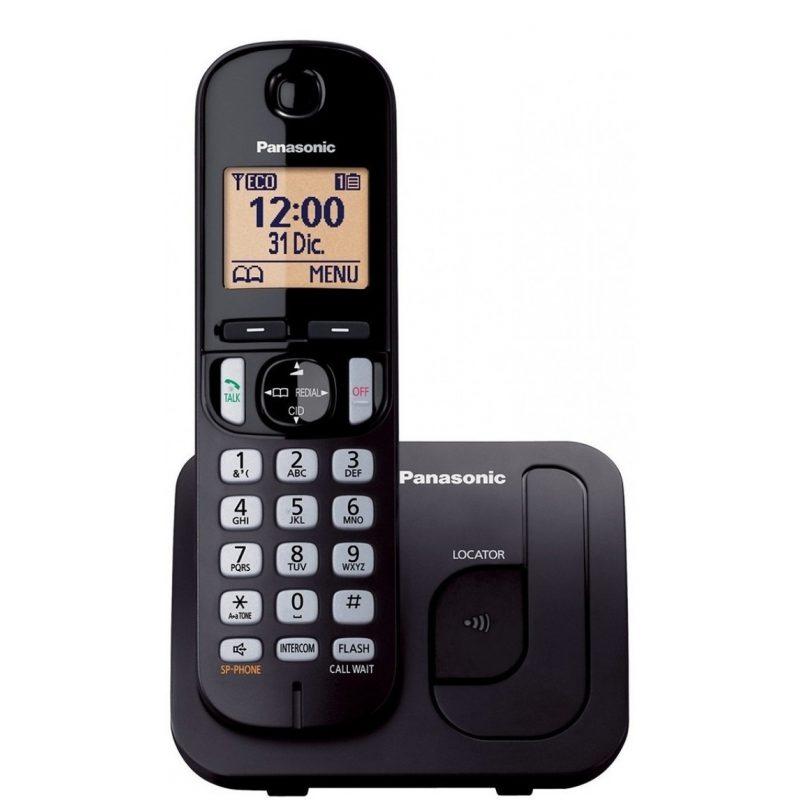 Telefono Inalambrico Panasonic KX-TGC210 Identificador de llamadas Manos Libres 1