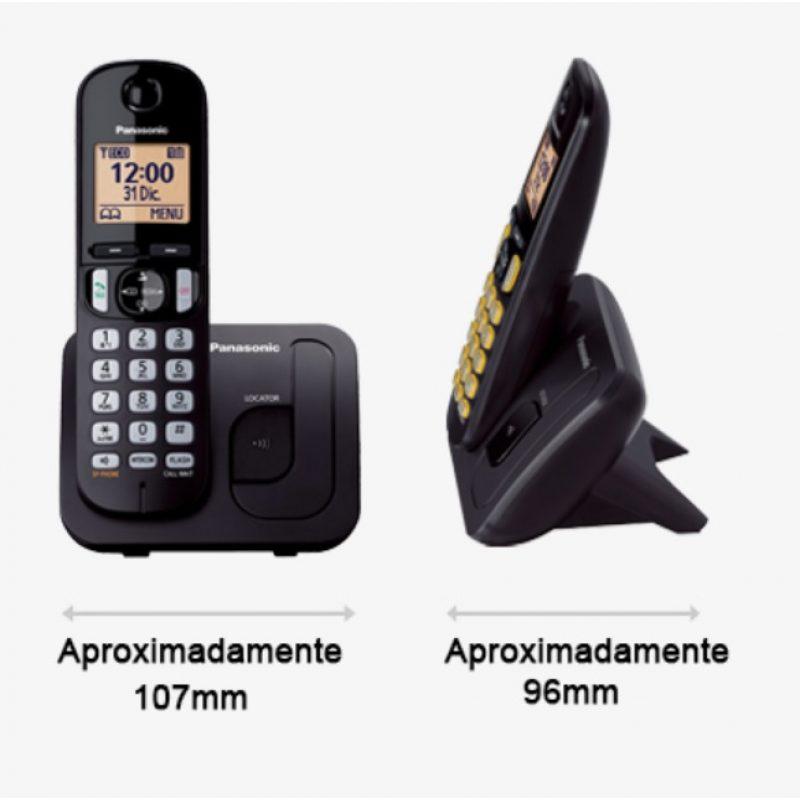 Telefono Inalambrico Panasonic KX-TGC210 Identificador de llamadas Manos Libres 2