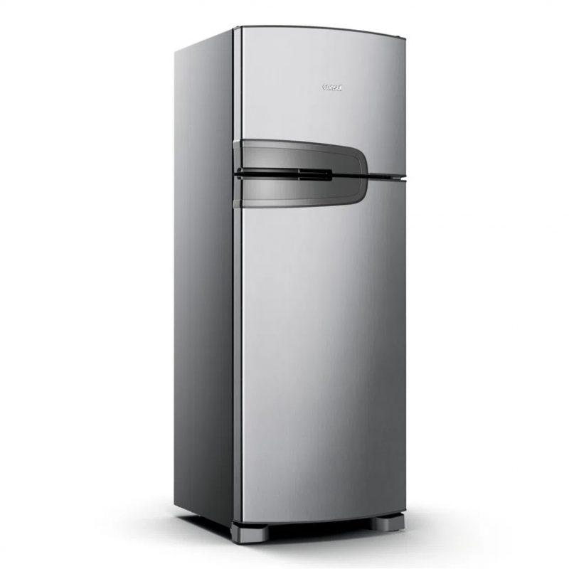 Heladera Consul CRM39A Inox 340L Frio Seco 2 Puertas Frost Free 1
