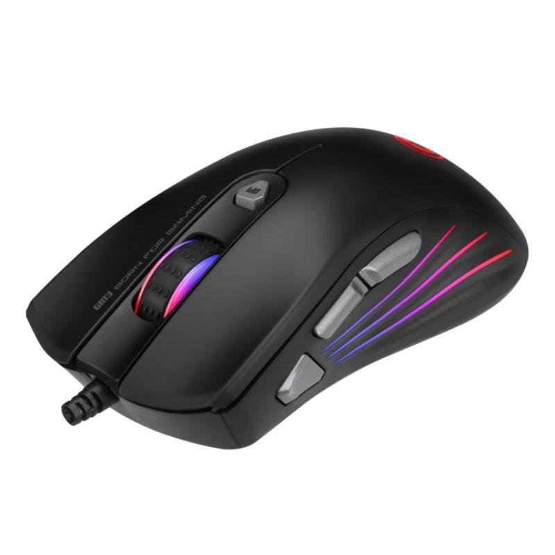 Mouse Gamer Marvo Scorpion G813 RGB Retroiluminado 7200dpi 7 Botones Programables 4
