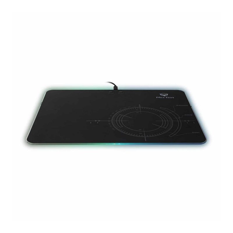 Mouse Pad Gamer Meetion MT-P010 Gaming Con Luces RGB Alta Calidad 2