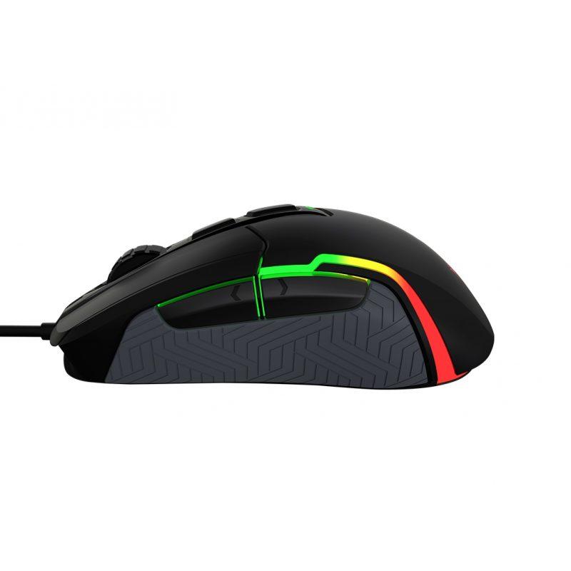 Mouse USB Gamer Meetion Poseidon MT-G3360 Retroiluminado RGB Profesional 12000dpi 2