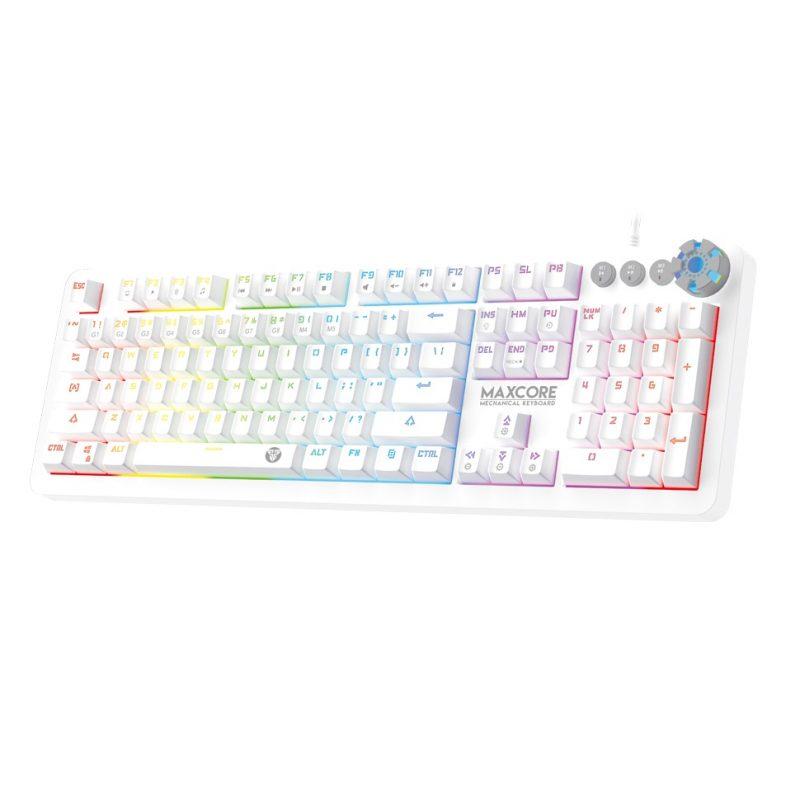 Teclado Gamer Mecanico Fantech MK852 RGB - Space Edition (Blanco) 1