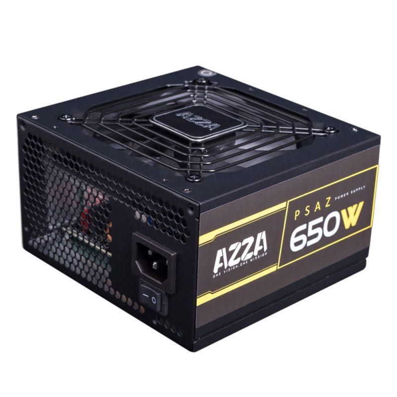 Fuente AZZA PSAZ-650W para PC 650w Reales 80 Plus Bronze 1